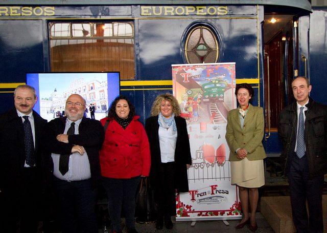 Nueva temporada del tren de la fresa la revista de valdemoro for Oficina de turismo de la comunidad de madrid