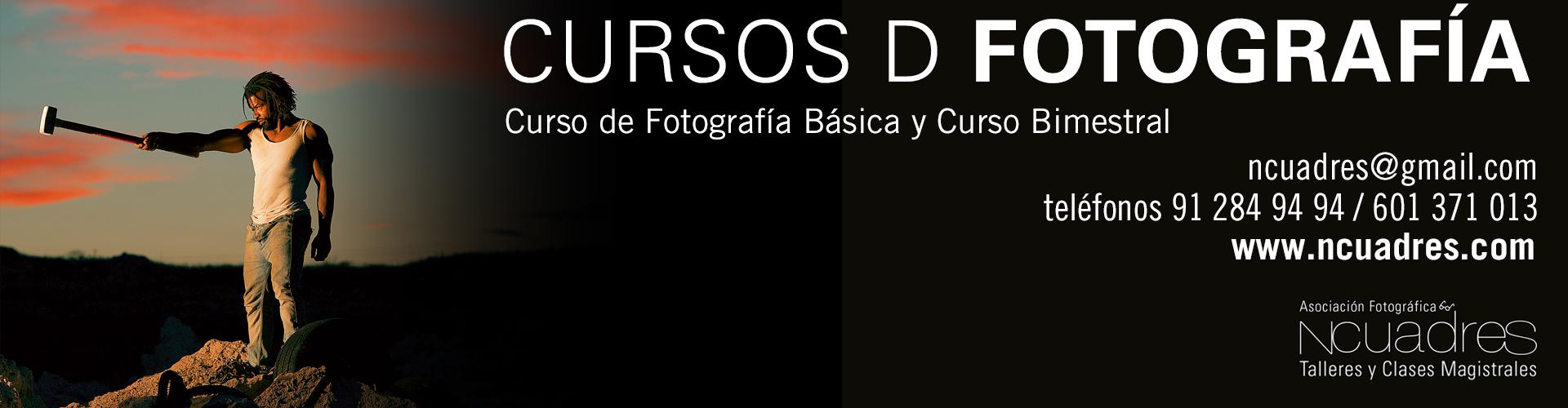 Cursos de fotografía en Valdemoro