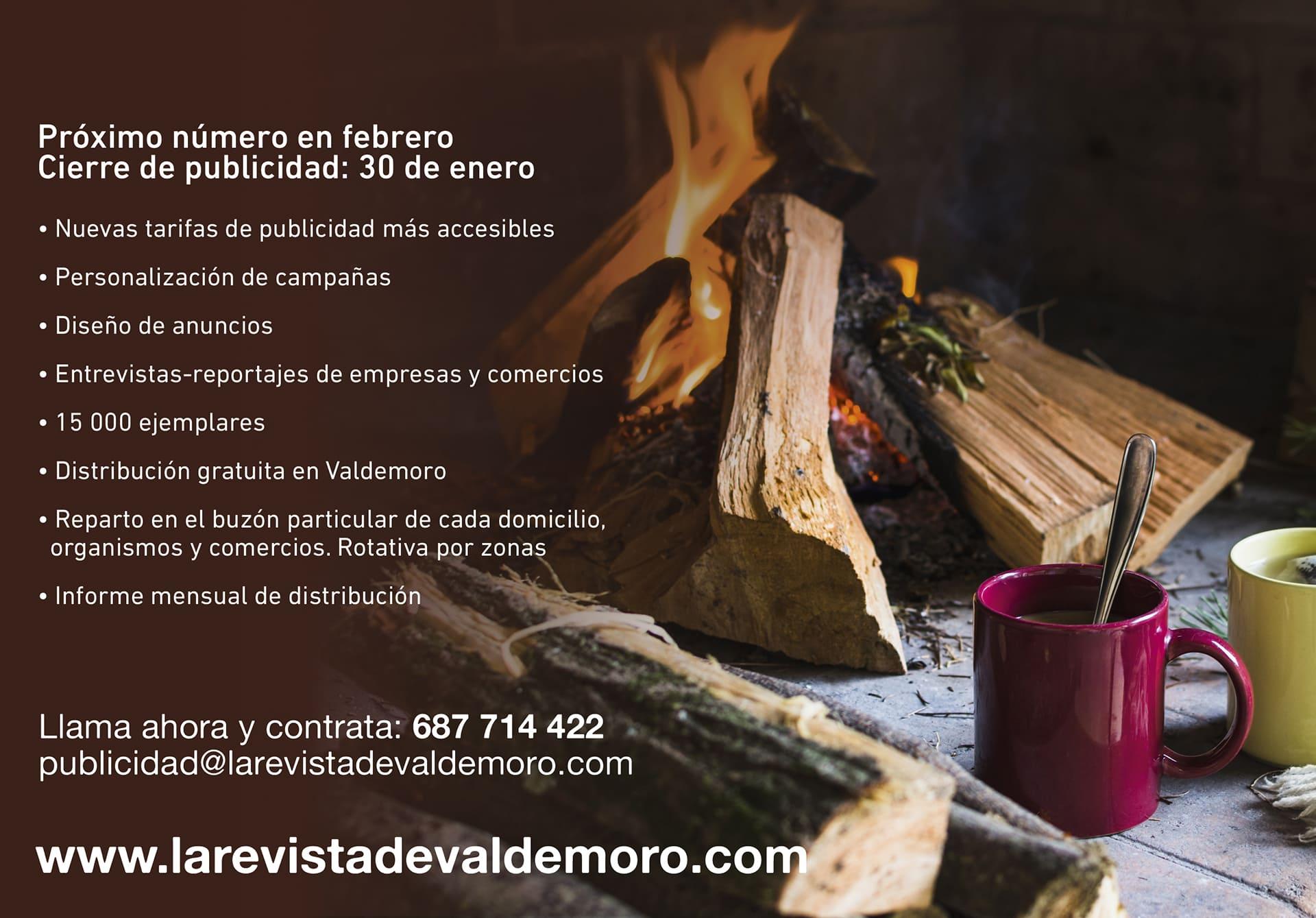 Anúnciate en La revista de Valdemoro