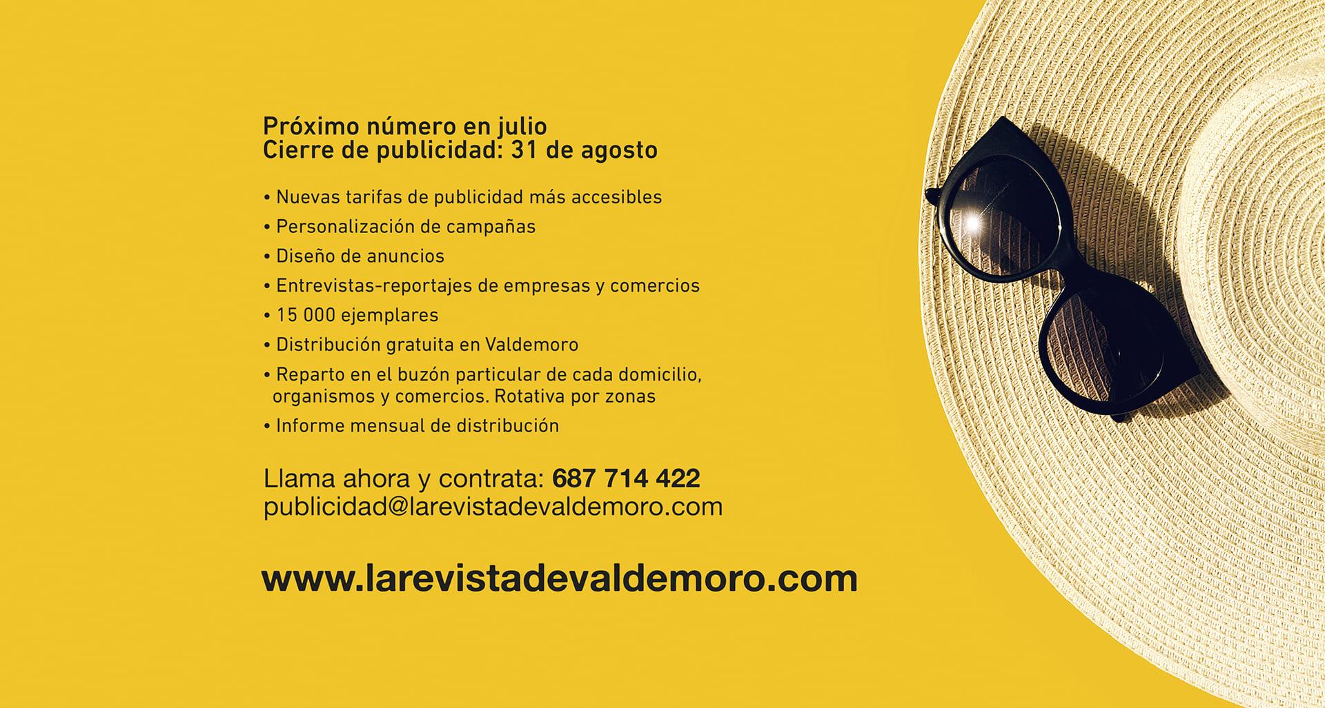 Publicidad La Revista de Valdemoro