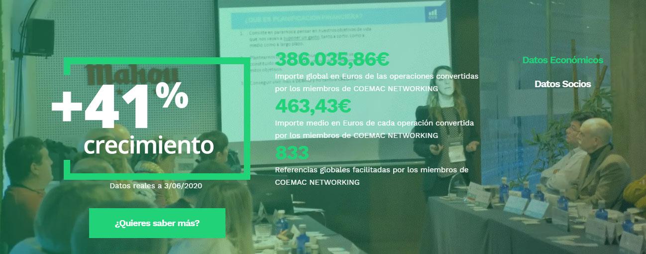 coemac networking mentoring nuevos emprendedores en valdemoro